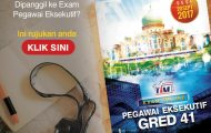 Rujukan Exam Pegawai Eksekutif 41 LHDNM 20 September 2017