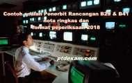 Contoh soalan Penerbit Rancangan B29 & B41, nota ringkas dan format peperiksaan 2018